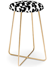 Deny Designs Rebecca Allen Elephant Rain Counter Stool