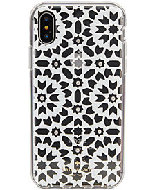 kate spade new york Jeweled Floral Mosaic iPhone 8/8 Plus/X Case