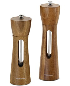 Rachael Ray Tools and Gadgets Acacia Salt & Pepper Grinder Set