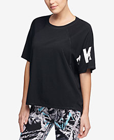 DKNY Sport Relaxed Logo T-Shirt, Created for Macy's