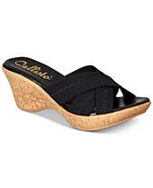 Callisto Odessa Slide Platform Wedge Sandals, Created for Macy s 4b163bf86e0