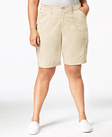 Lee Platinum Plus Size Cargo Shorts