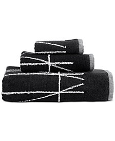 DKNY Geometrix Cotton Fingertip Towel