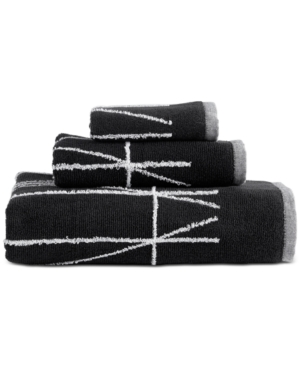 Dkny Geometrix Cotton Hand Towel Bedding