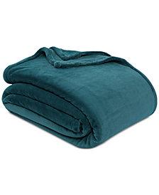 """Berkshire Extra-Luxe 90"""" x 90"""" Plush Bed Full/Queen Blanket"""