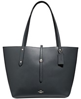 523d02c23fa COACH Market Tote in Polished Pebble Leather