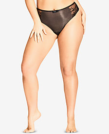 City Chic Trendy Plus Size Eve Shorty Brief