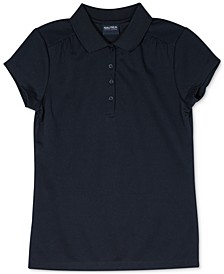 Big Girls Plus-Size Performance Polo Shirt