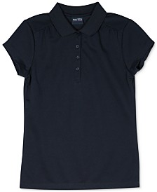 Nautica Big Girls Plus-Size Polo Shirt