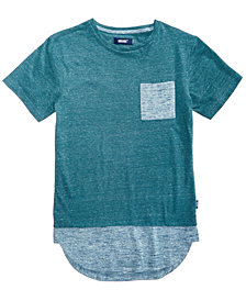 Univibe Big Boys Contrast Pocket T-Shirt