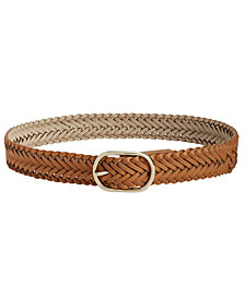 I.N.C. Braided Pant Belt, Created for Macy's