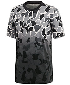 adidas Men's Originals Camo-Print Dip-Dyed T-Shirt