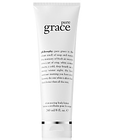 philosophy Pure Grace Shimmering Body Lotion, 8-oz.