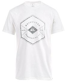 Quiksilver Men's Hexagon Graphic-Print T-Shirt