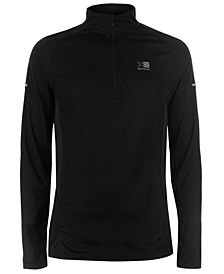 Men's 1/4-Zip Long-Sleeve Running Top from Eastern Mountain Sports