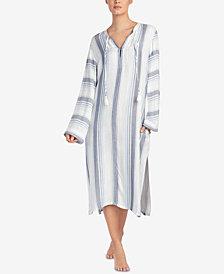 Lauren Ralph Lauren Striped Long Nightgown