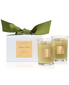 Aromatique Grapefruit Fandango Boxed Votive Candles, Set of 2