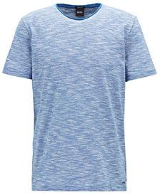 BOSS Men's Regular/Classic-Fit Cotton Mouliné T-Shirt