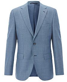 BOSS Men's Regular/Classic-Fit Virgin Wool Sport Coat