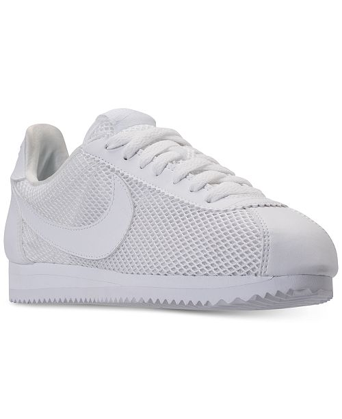 a1c022222dbb ... Nike Women s Classic Cortez Premium Casual Sneakers from Finish ...