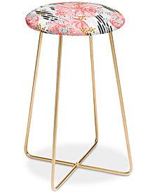 Deny Designs Marta Barragan Camarasa Abstract Tropical Counter Stool