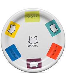 Meow Cat Plate
