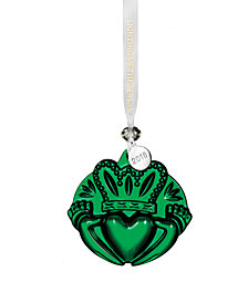 Waterford Claddagh Green Ornament