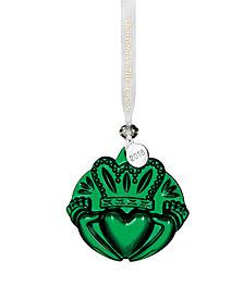 Waterford Claddagh Green Ornament