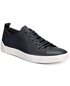 HUGO Men's Zero Leather Tennis Sneakers