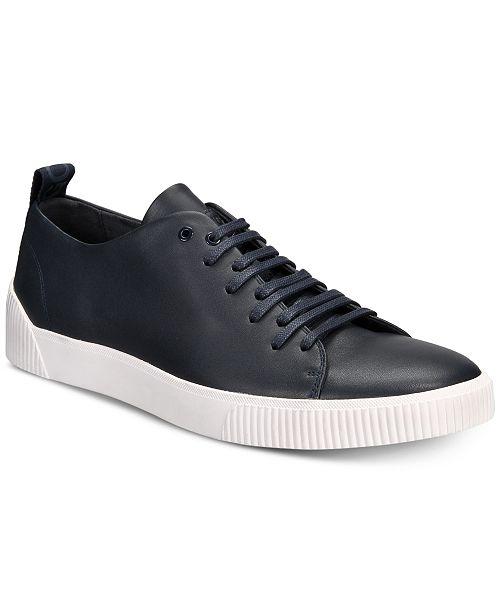 a302312e9b Hugo Boss HUGO Men's Zero Leather Tennis Sneakers & Reviews - All ...