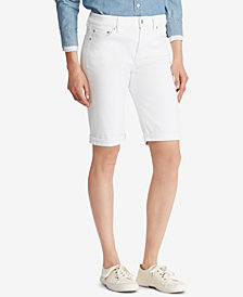Lauren Ralph Lauren Superstretch Denim Shorts