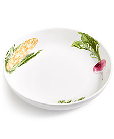 Martha Stewart Collection Farmhouse Mixed Veggie Dinner Bowl