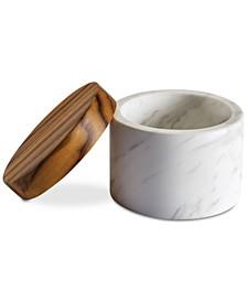 Pantryware White Marble Salt Cellar