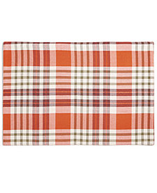 "Bardwil Barry Plaid 13"" x 19"" Placemat"