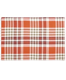 """Bardwil Barry Plaid 13"""" x 19"""" Placemat"""