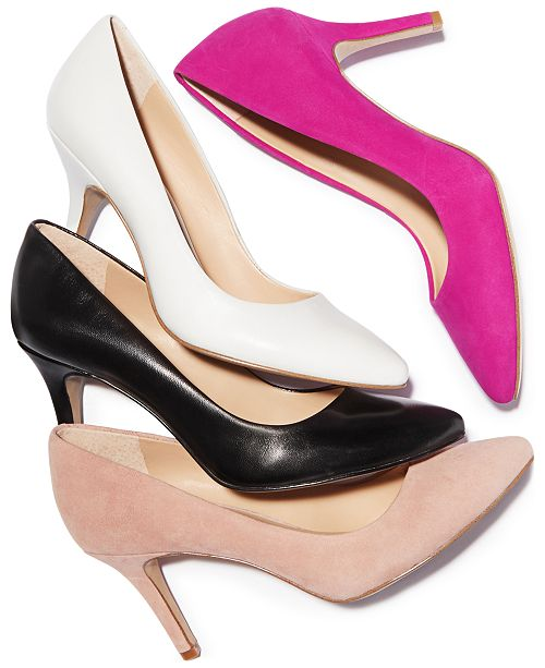 74cebd45a7 INC International Concepts I.N.C. Women's Zitah Pointed Toe Pumps, Created  for Macy's ...