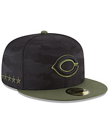 New Era Boys' Cincinnati Reds Memorial Day 59FIFTY FITTED Cap