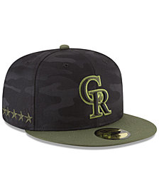 New Era Boys' Colorado Rockies Memorial Day 59FIFTY FITTED Cap