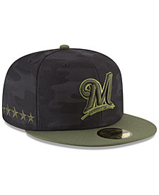 New Era Boys' Milwaukee Brewers Memorial Day 59FIFTY FITTED Cap