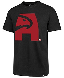 '47 Brand Men's Atlanta Hawks Mashup Logo Club T-Shirt