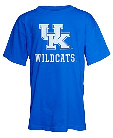 J America Kentucky Wildcats Big Logo T-Shirt, Big Boys (8-20)