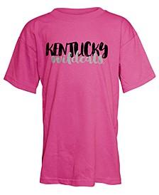 Kentucky Wildcats Script Logo T-Shirt, Girls (4-16)