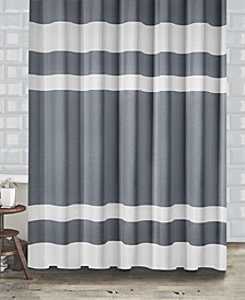 "Popular Bath New England Stripe 72"" x 72"" Shower Curtain"