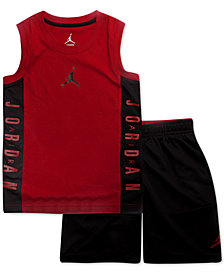Jordan Little Boys 2-Pc. AJ 23 Tank Top & Shorts Set