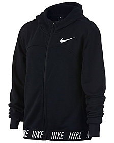 Nike Big Girls Zip-Up Training Hoodie