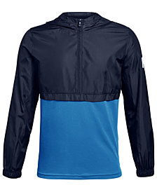 Under Armour Big Boys Windwear 1/4-Zip Hooded Jacket