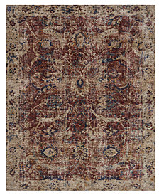 "Loloi Porcia PB-08 Red/Beige 2' 8"" x 8' Runner Area Rug"
