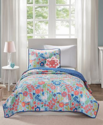 Flopsy 3-Pc. Twin Coverlet Set