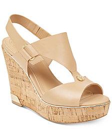 GUESS Women's Hulda Platform Wedge Sandals