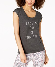 Gaiam Take Me Om Graphic Yoga T-Shirt